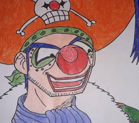 Jaya Arc Buggy the Clown in DB style by gekkodimoria