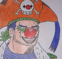 Jaya Arc Buggy the Clown in G.I.Joe style by gekkodimoria