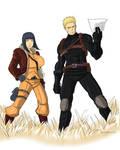 Hinata and Naruto like Covergirl and Spirit