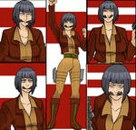 Hinata like Covergirl (G.I.Joe) 32 by gekkodimoria