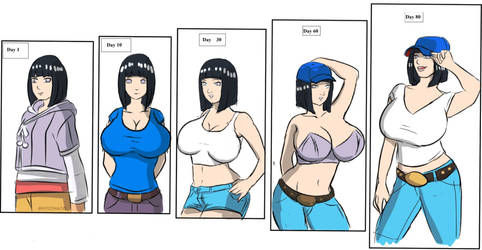 Hinata: from a housewife a top model by gekkodimoria