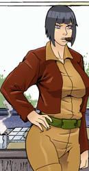 Hinata like Covergirl (G.I.Joe) 36 by gekkodimoria