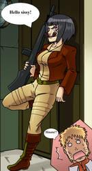 Hinata like Covergirl (G.I.Joe) 39 by gekkodimoria