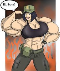 Hinata soldier girl by gekkodimoria