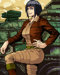 Hinata like Covergirl (G.I.Joe) 40 by gekkodimoria