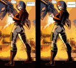 Hinata like Covergirl (G.I.Joe) 47 Special 6 by gekkodimoria