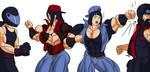 Hinata and Hanabi like Harry 4 by gekkodimoria
