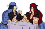 Hinata and Hanabi like Harry 5 by gekkodimoria