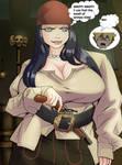 Hinata like Evil Jules(Pirates) by gekkodimoria