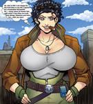 Hinata like Christine Blaze(Wildstorm) 3 by gekkodimoria