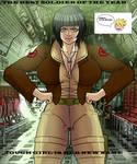 Hinata like Covergirl (G.I.JOE) 58 Super Special 1 by gekkodimoria