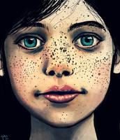 Freckle Face by Hanamah