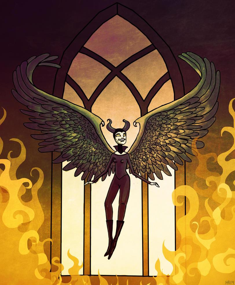 Maleficent by Hanamah