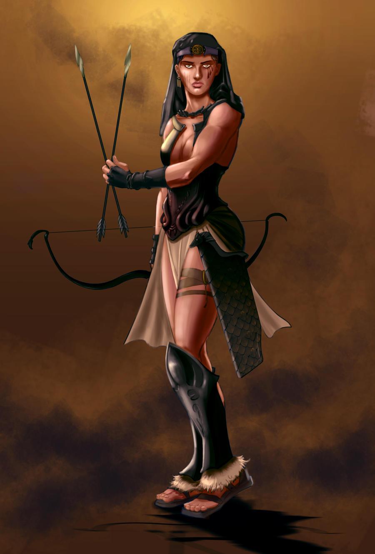 Amazon warriors archer exploited galleries