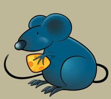 Blue Rat by SandsGonzaga