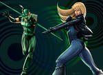 Green Arrow + Black Canary