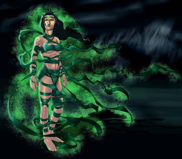 Green Lady by SandsGonzaga