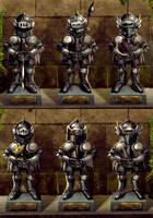 Goblin Armors by SandsGonzaga