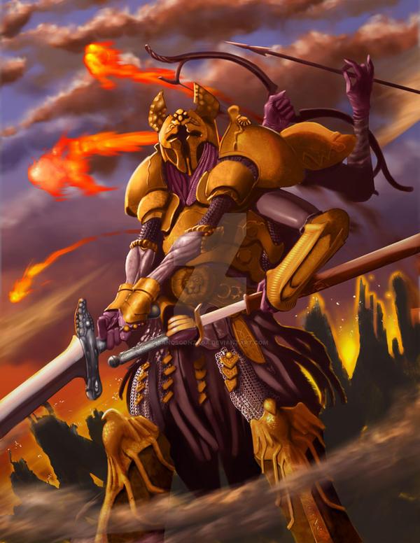 Desolation  Warrior by SandsGonzaga