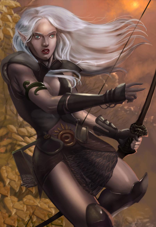 Elf Ranger SFW by SandsGonzaga