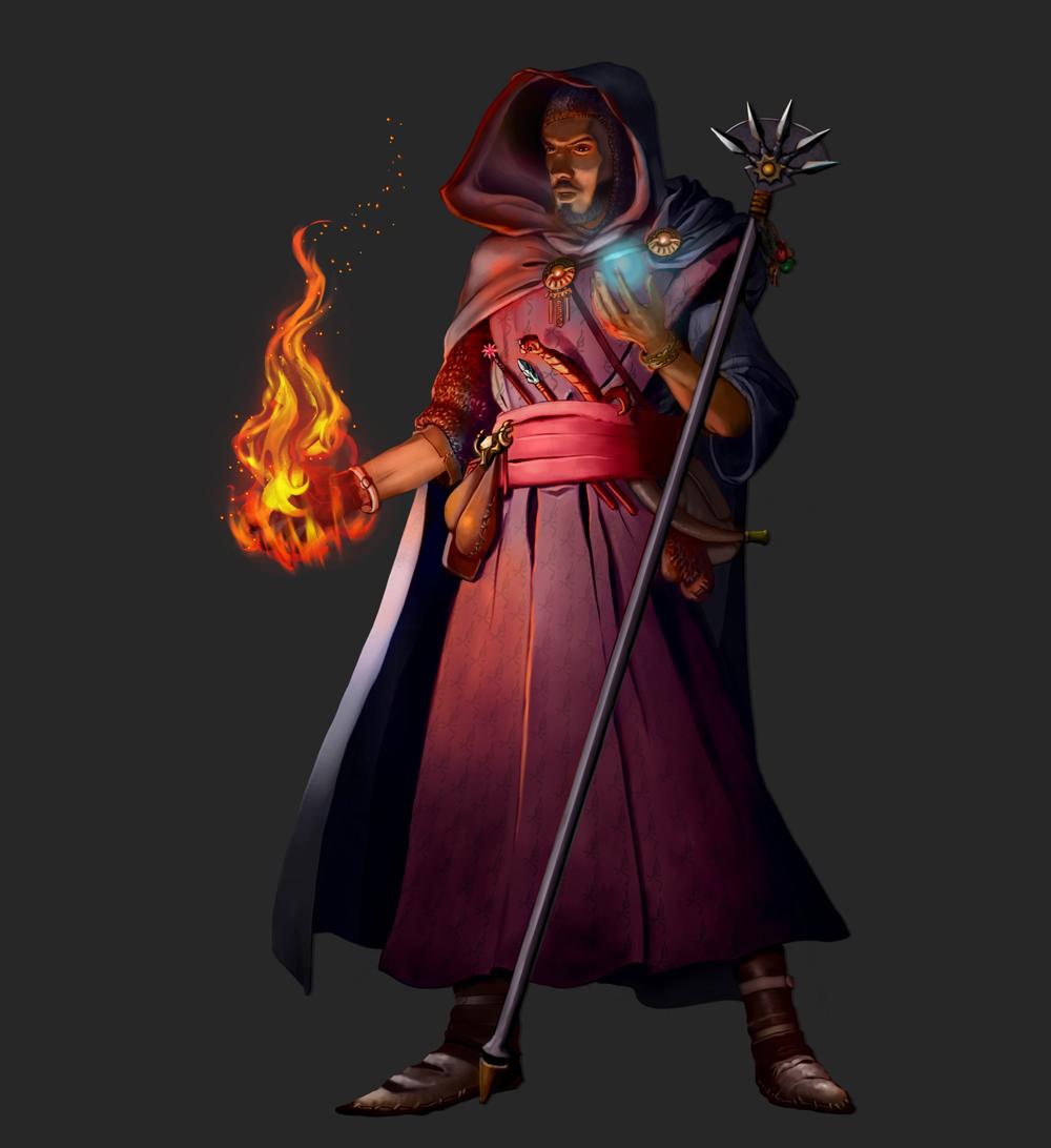 Mystic Theurge by SandsGonzaga