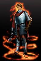 Rivan Greysteele, cleric by SandsGonzaga