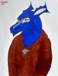 Dragon Monk by Kaejaris