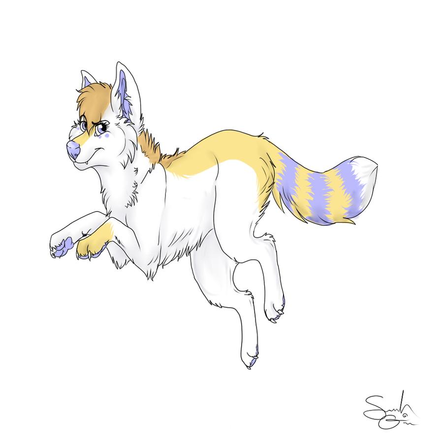 :GiftArt: KittyKatfangs by SpiritedStar