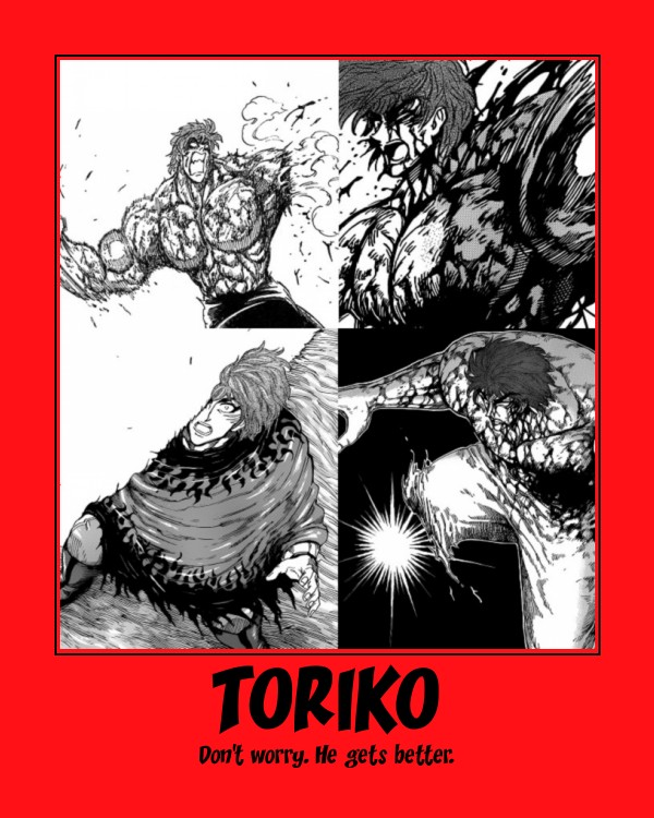 Toriko Gets Messed Up A Lot By El-Drago-800 On DeviantArt