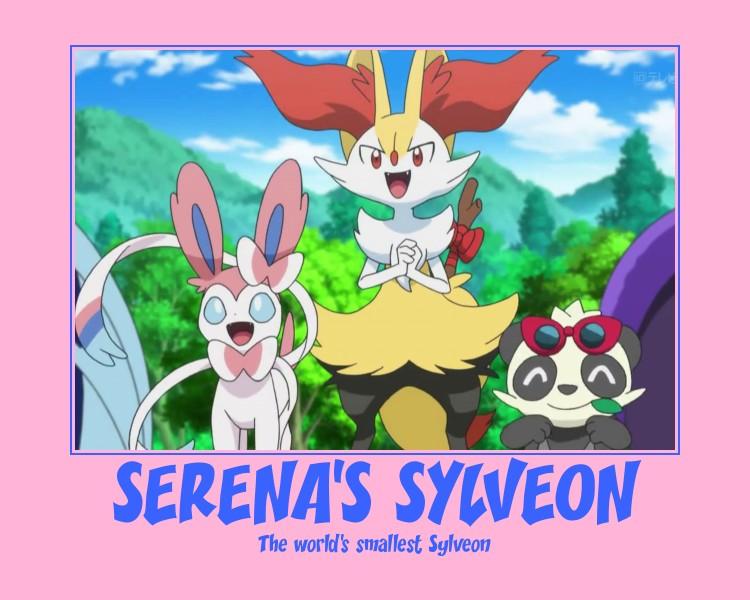 Serena's Sylveon (De)Motivator by El-Drago-800
