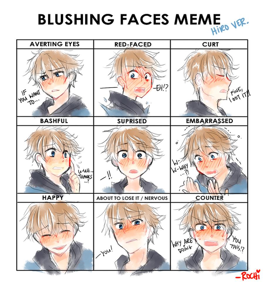Blushing Face Meme Hetalia