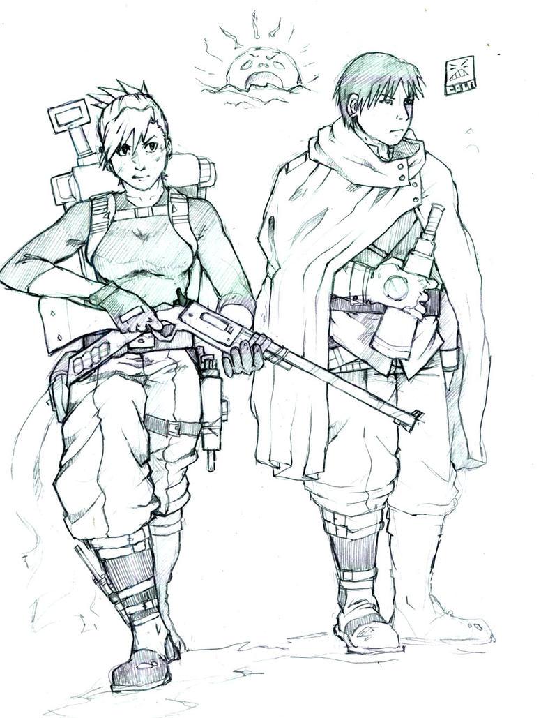 RoyAi Sniper and Spotter by cola-san on DeviantArt