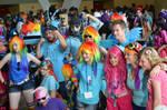 BronyCon 2013 - Rainbow Dash + Pinkie Pie