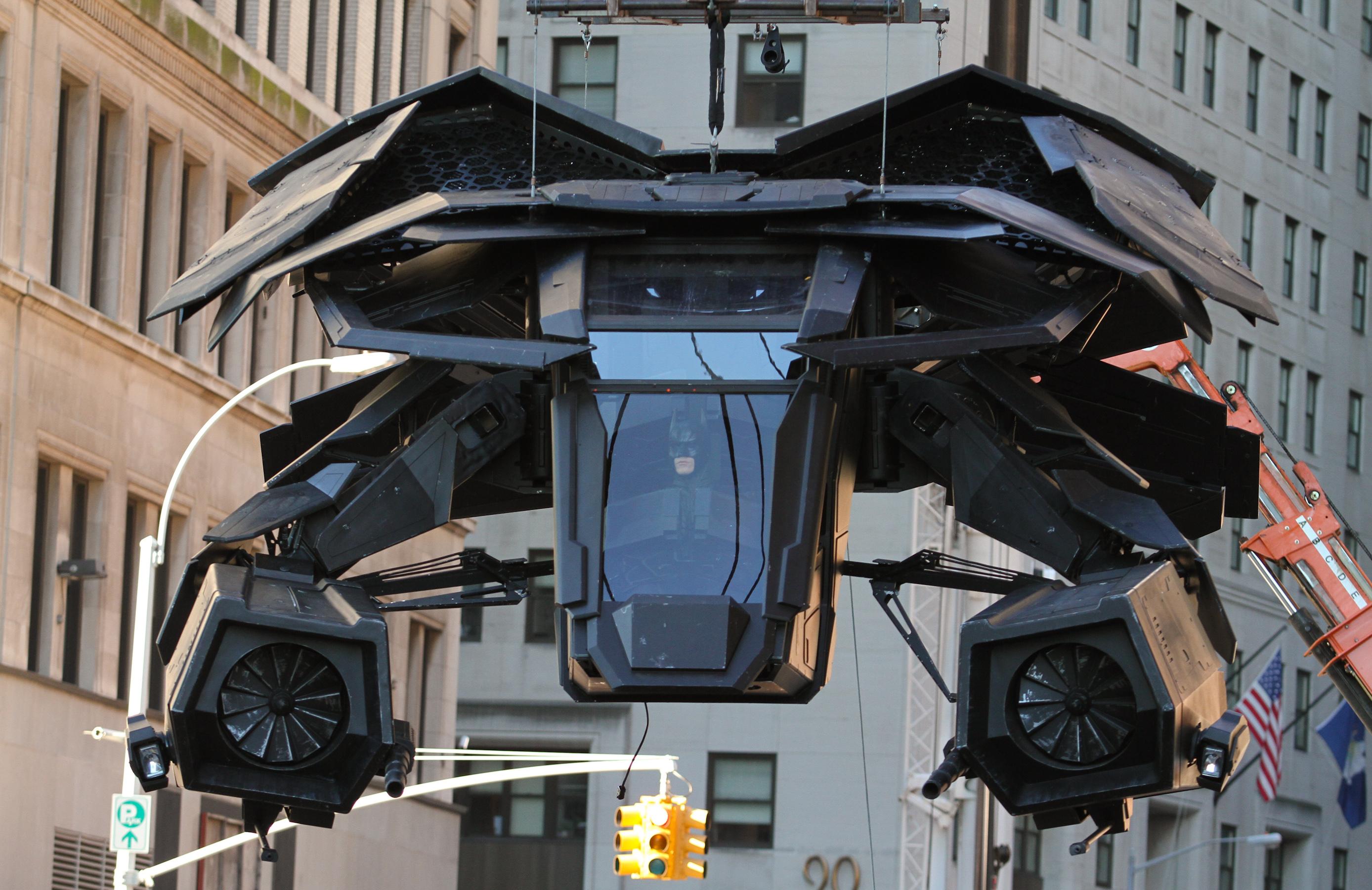 Assembling 'The Bat' Vehicle   The SuperHeroHype Forums