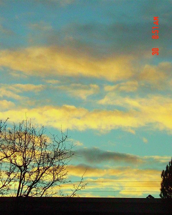 Blue Sky, Yellow Clouds By Ranuko On DeviantArt