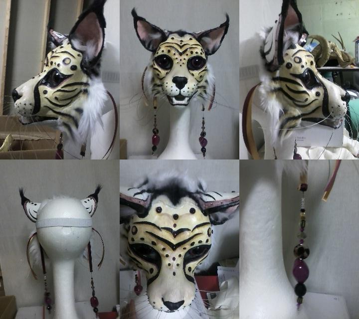 Masquerade mask by xiamara13