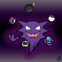 Juggling Haunter by Toxcydia