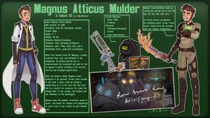 Fallout OC | Magnus Atticus Mulder