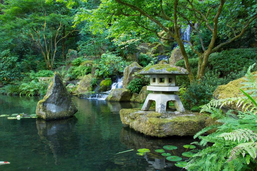 Zen Garden By Brett Fish ...