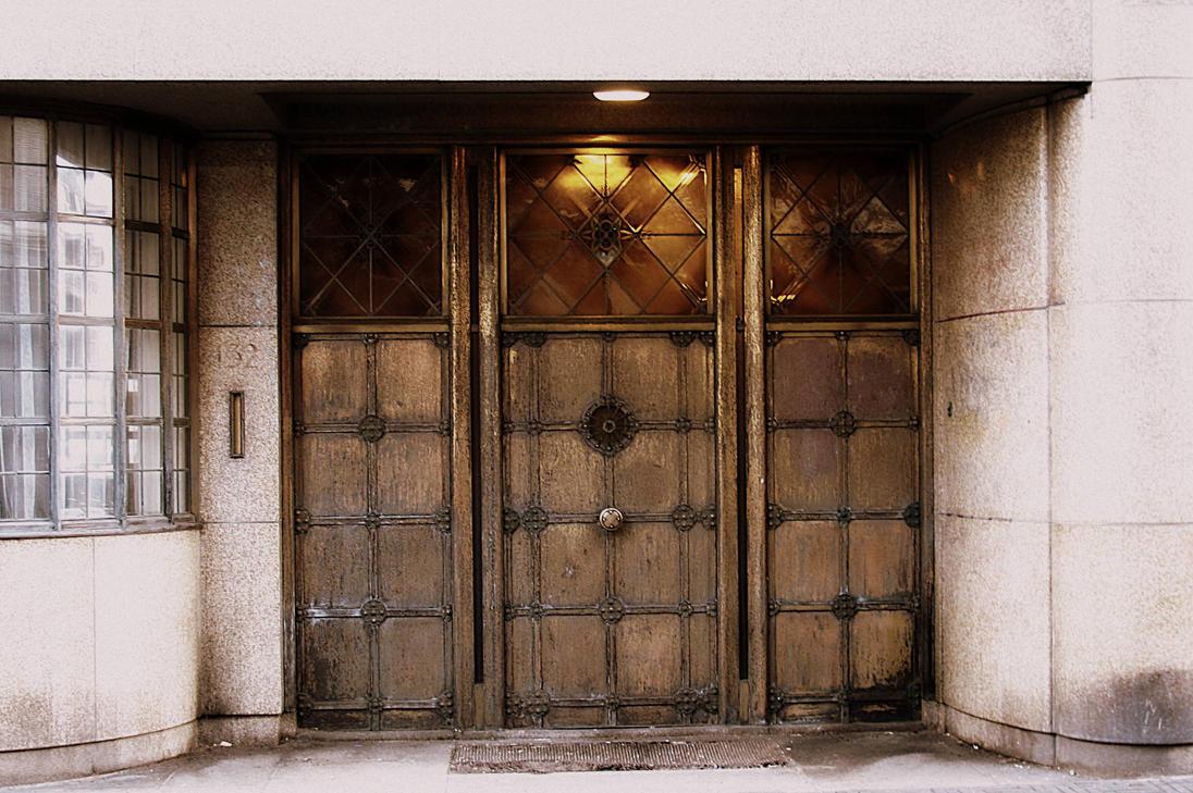 doors in Den Haag by spiralingspirit