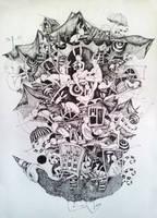 Flightless bird by zinaart