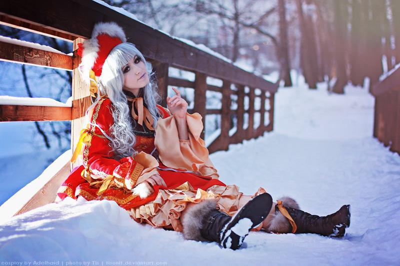 Myobi. Doll in the snow. by TaisiaFlyagina