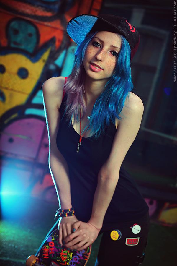 Skater Girl By Taisiaflyagina On Deviantart