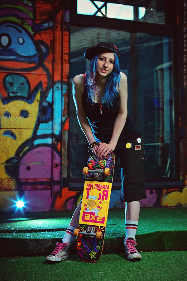 Skater girl II by TaisiaFlyagina ...