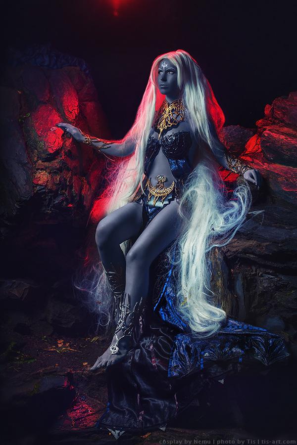 Shilen, Goddess of Destruction cosplay by TaisiaFlyagina