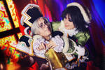 Trinity blood: Smile! Abel and Seth cosplay