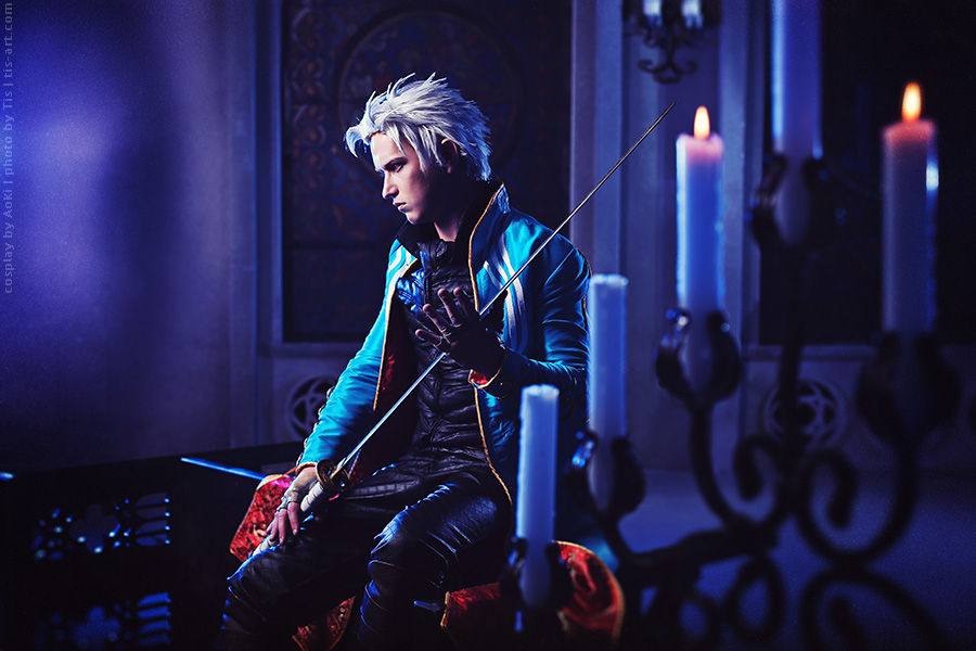 Dark castle II. Devil may cry: Vergil cosplay by TaisiaFlyagina