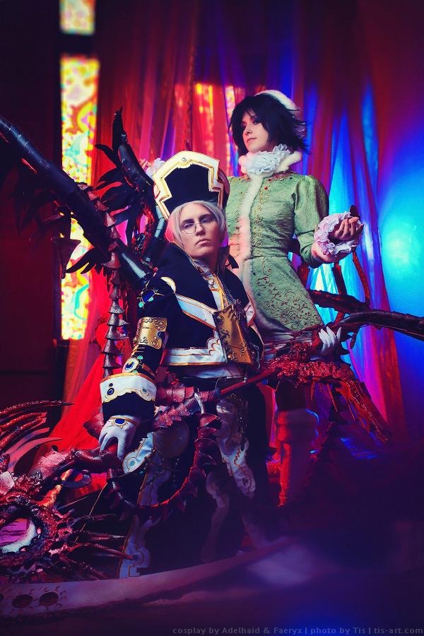Trinity blood: Abel and Seth cosplay by TaisiaFlyagina