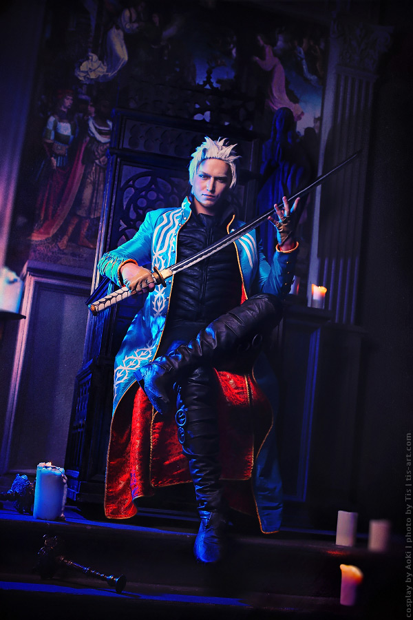 Throne. Vergil cosplay by TaisiaFlyagina