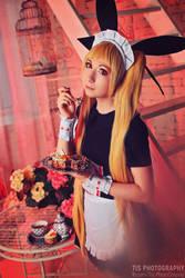 Rachel Alucard, BlazBlue Calamity Trigger cosplay by TaisiaFlyagina